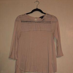 H&M Small Light Pink Shirt